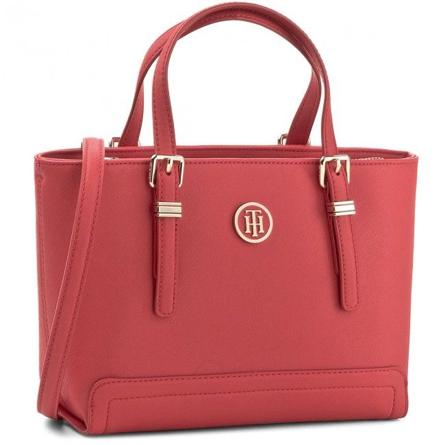 Táska TOMMY HILFIGER - Honey Small Tote AW0AW04994 614