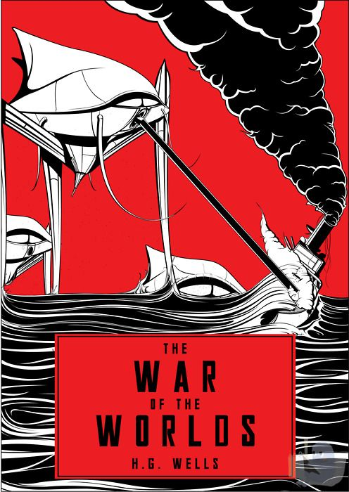 Book Cover Art Generator : Best images about h g wells the war of worlds on