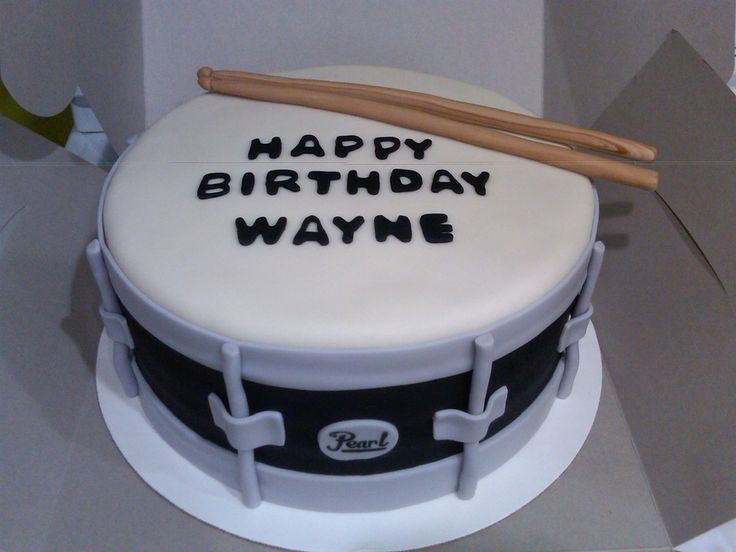 Snare Drum on Cake Central