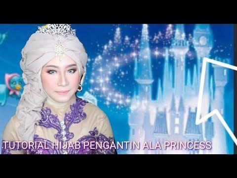 Pin By Tuty Tuty On Hidzhab Sharf Hijab Tutorial Princess Hijab