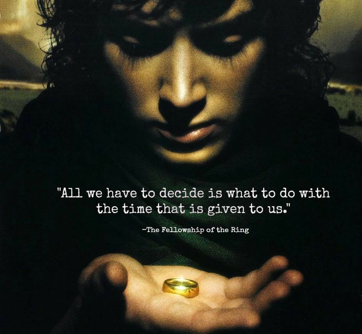 High Quality LOTR Quote