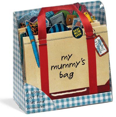 My mummy's bag - mini, by PH Hanson - keeps the little ones busy for hours and out of your bag!!