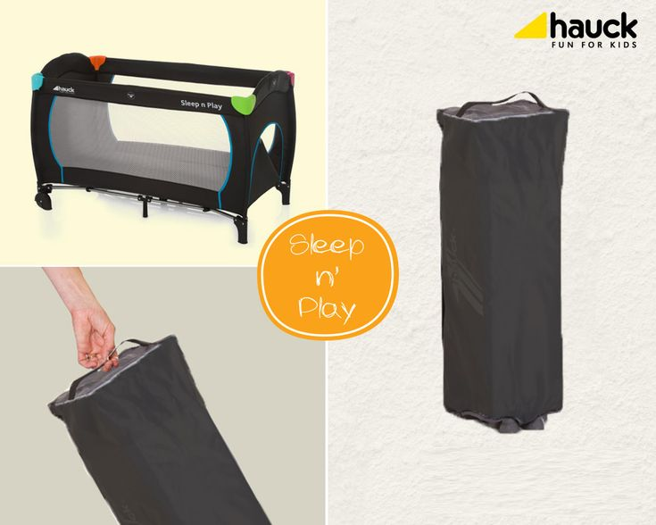 Ύπνος και παιχνίδι!!! Hauck Παρκοκρέβατο Sleep'n Play Plus Multicolor Black #baby #nursery #playpen #sleep