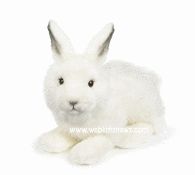 #Webkinz Signature Arctic Hare will be arriving in Webkinz World in February 2013.