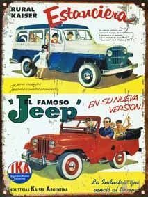 Awesome Jeep 2017: Cartel Chapa Publicidad Antigua Estanciera Y Jeep Ika L256 - $ 280,00 jeep wangler Check more at http://carboard.pro/Cars-Gallery/2017/jeep-2017-cartel-chapa-publicidad-antigua-estanciera-y-jeep-ika-l256-28000-jeep-wangler/