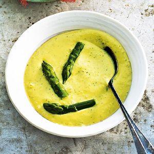 Kijk wat een lekker recept op de test-site van Allerhande! Groene asperge en avocadosoep