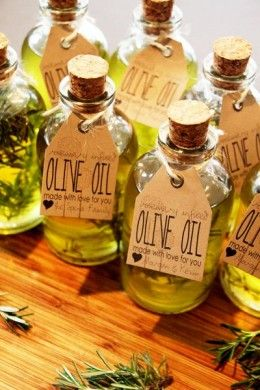 Homemade Flavored Olive Oil