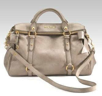 Miu Miu Vitello Lux Purse -- one of my first buys for sure.