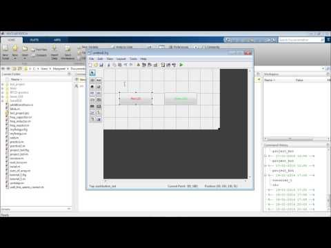 Introduction to creating GUI using MATLAB