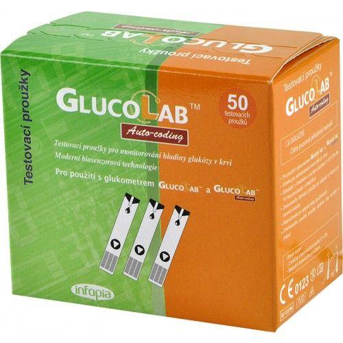GlucoLab testovací proužky 50 ks