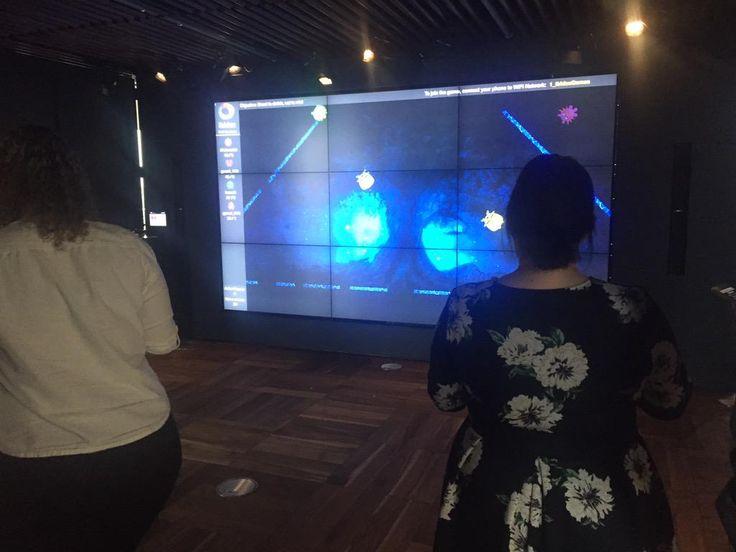 Digital Catapult Showcase - Sade Laja and Michella Oswald with Ibidex Games' demo