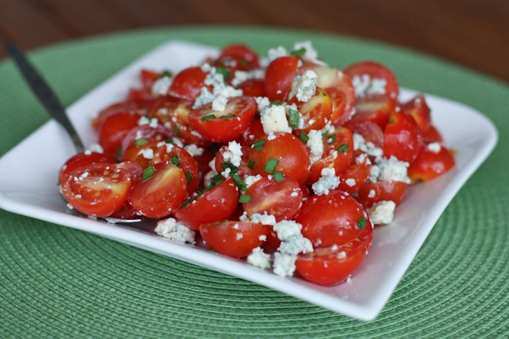 Cherry Tomato and Blue Cheese Salad Recipe | AggiesKitchen.com