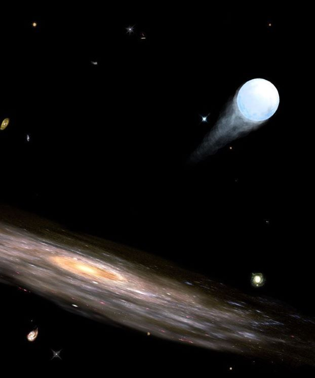 """Hypervelocity Stars- If you've ever gazed at the night sky, you've probably wished upon a shooting star (which are really meteors). But shooting stars do exist, and they're as rare as one in 100 million. In 2005, astronomers discovered the first """"hypervelocity"""" star careening out of a galaxy at nearly 530 miles per second (10 times faster than ordinary star movement)."""
