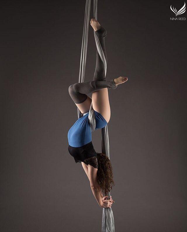 Aerial silks photo by Nina Reed Photography