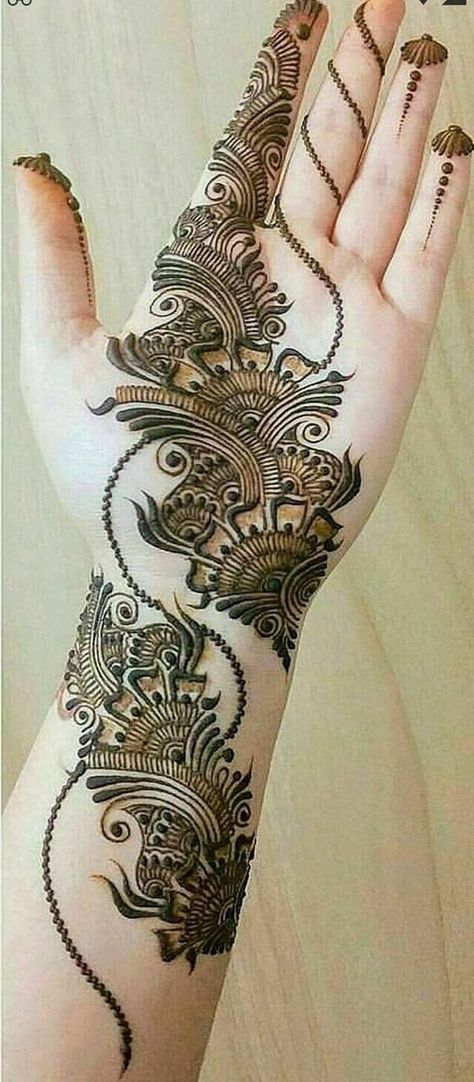 This Article Is Also About Latest Hand Mehndi Designs 2018 For Girls