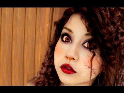 maquillaje de vampira ♥ Miku vampire makeup - YouTube