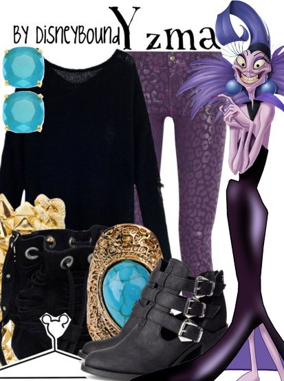 I love Yzma...maybe different purple pants though!
