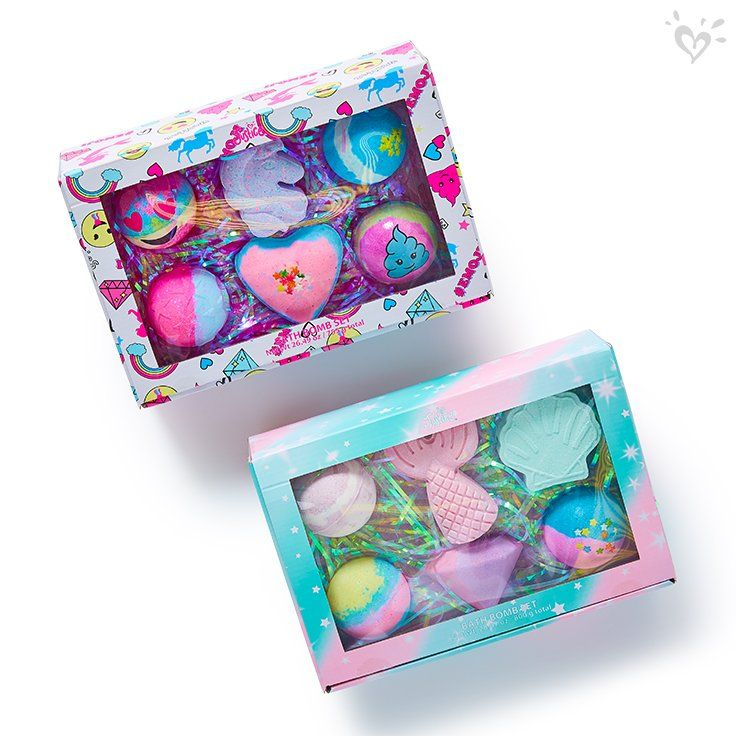 Bath bomb gift sets to go!