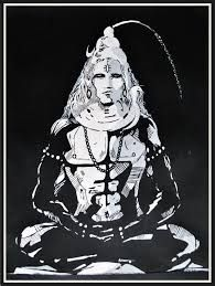 lord shiva abstract - Google Search