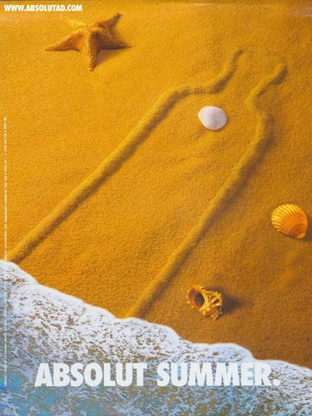 Absolut Vodka - Absolut Sand