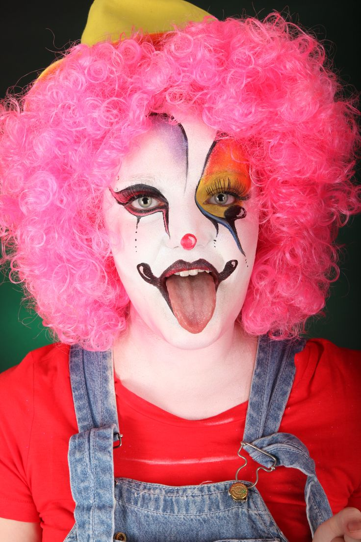 13 best clown images on pinterest make up navy makeup and red heads. Black Bedroom Furniture Sets. Home Design Ideas
