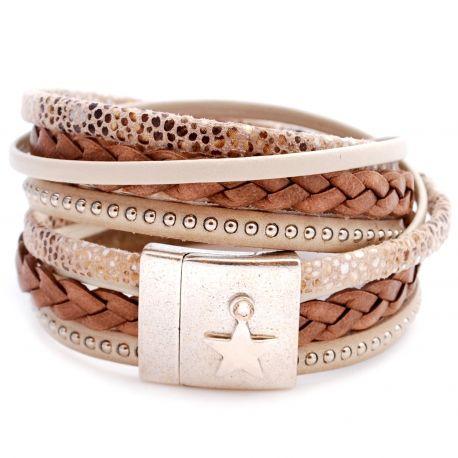 Bracelet EMILY sable