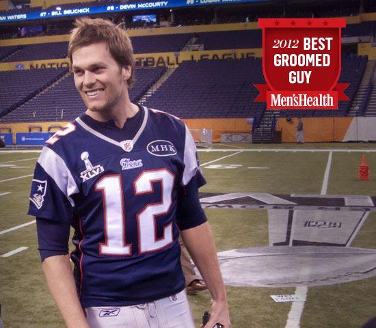 Tom Brady, 2012's Best Groomed Guy