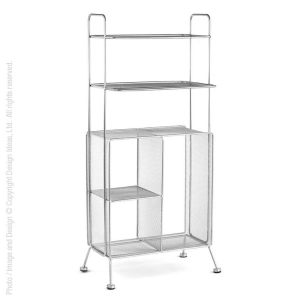 Design Ideas was the first company to introduce desk accessories from expanded metal mesh… today we remain the industry leader in developing innovative new styles for every room in the home and office. #organize #mesh #storage
