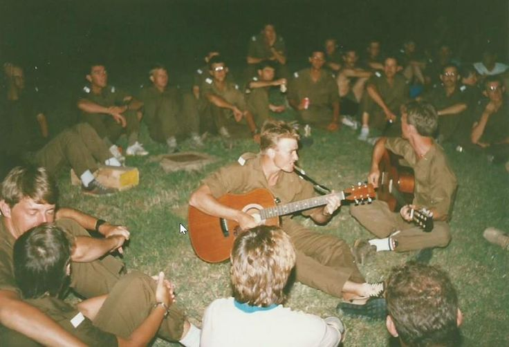 South African Border war - there was time for singing