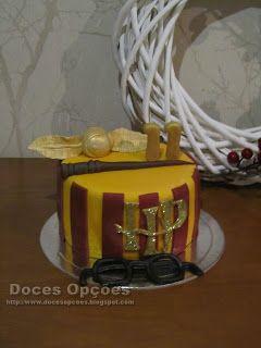 Doces Opções: Bolo de aniversário Harry Potter