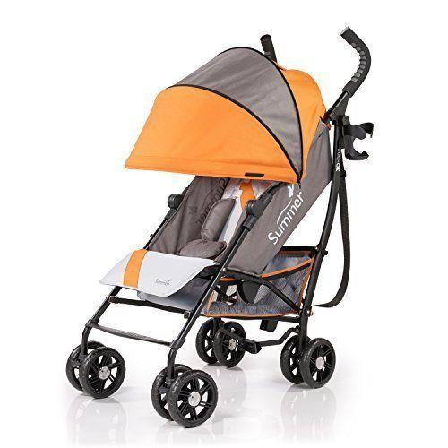 NEW Baby Infant Toddler Stroller Convenient Safe Adjustable Canopy Heat Resist #SummerInfant