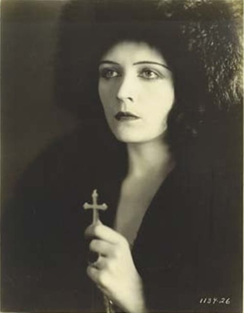 Pola Negri in Woman from Moscow (1928) Silent Movie Star (1897-1987)
