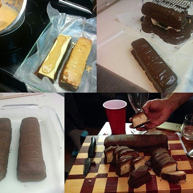 Giant Twix bar anyone? #chocolate overload #giantfood #baking #dessert #epic #yummy www.mycakestall.com #sweets