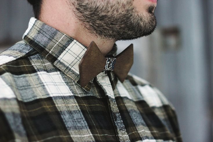 DIY Wooden Bow Tie @Matty Chuah Merrythought