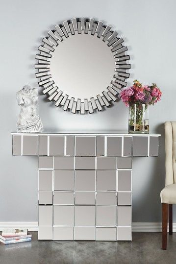 Etoile Mirrored Console Table by Statements By J @ $709 on @HauteLook