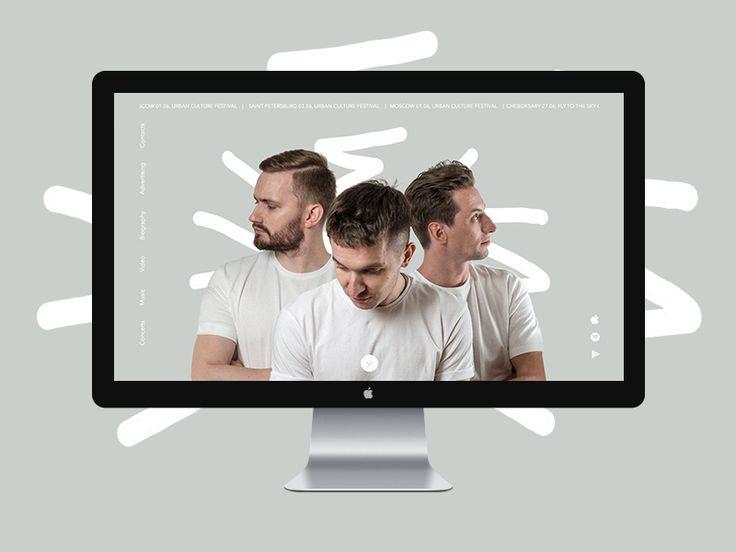 hleb/хлеб website concept