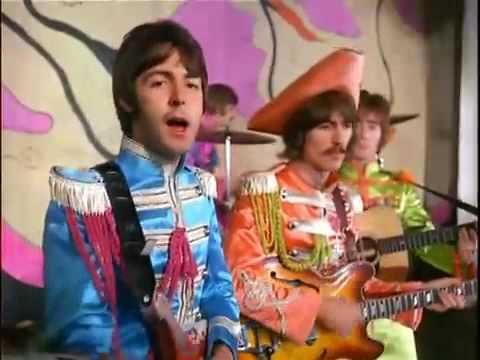 The Beatles - Hello Goodbye HD   There's so much about this video to love