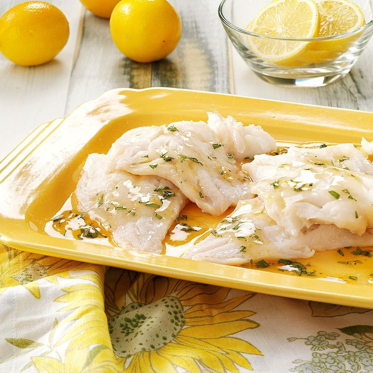 Broiled Fish with Tarragon Sauce Recipe -The delicate flavor of this fish pairs perfectly with the tangy sauce. A yummy hint of honey comes through. Serve it with crusty bread, mixed vegetables or rice to help soak up the sauce.—Robin Pratt, Athens, Georgia