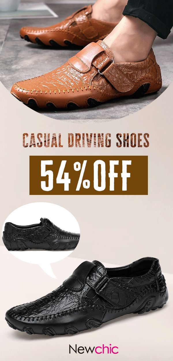 54%OFF]Men Large Size Hand Stitching Hook Loop Soft Sole