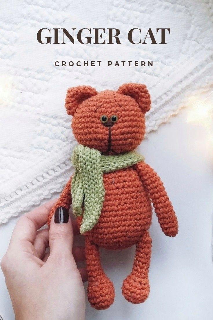 Amigurumi Cat - FREE Crochet Pattern / Tutorial | Crochet cat ... | 1102x735