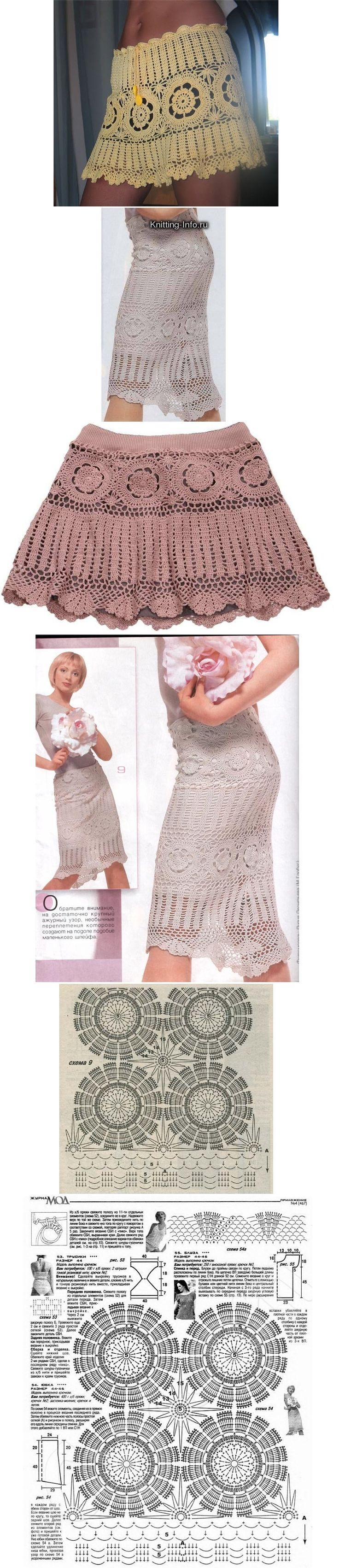 Contemporary Free Crochet Patterns For Dresses And Skirts Vignette ...