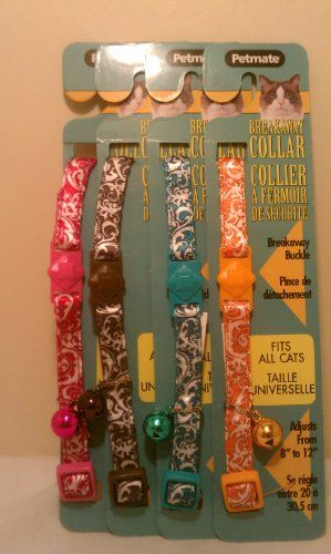 Petmate Breakaway Cat Collar 38 Width x 812 -- You can get more details by clicking on the image.