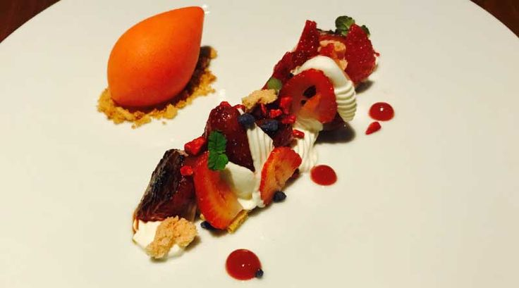 Tarte of Stawberries | Dinner by Heston | Review  #masterchef #foodie #melbourne