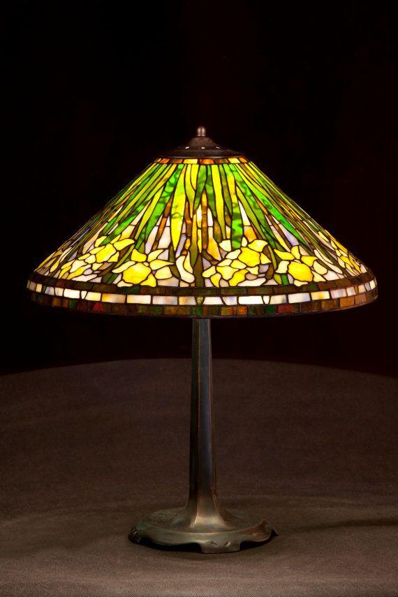 Foil Glass Desk Lamp Designs