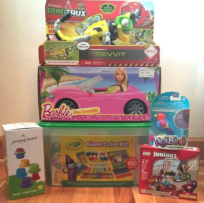 Toy Deals for Charity: $42.82 (incl. tax & shipping) for $85+ worth of to...