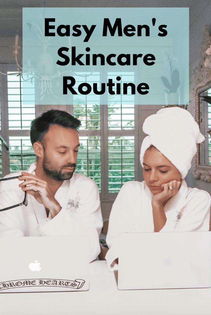 As A Beauty And Skincare Product Hoarder I Created An Easy Skincare Regimen For My Husband Check Out My Mens Skin Care Men Skin Care Routine Skin Care Steps