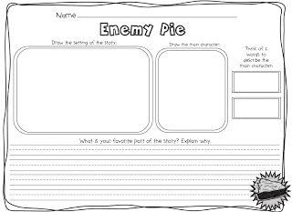 Enemy Pie for a Friday Freebie! - TGIF! - Thank God It's First Grade!