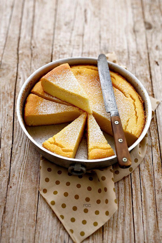 ... semolina cake ...