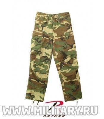 Винтажные брюки цифровой камуфляж 2666