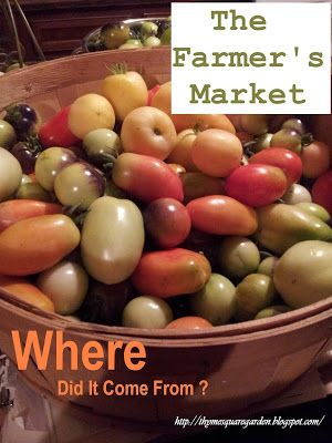 """TSG: Is Your Local Farmers Market A """"Producer-Only"""" Market?"""